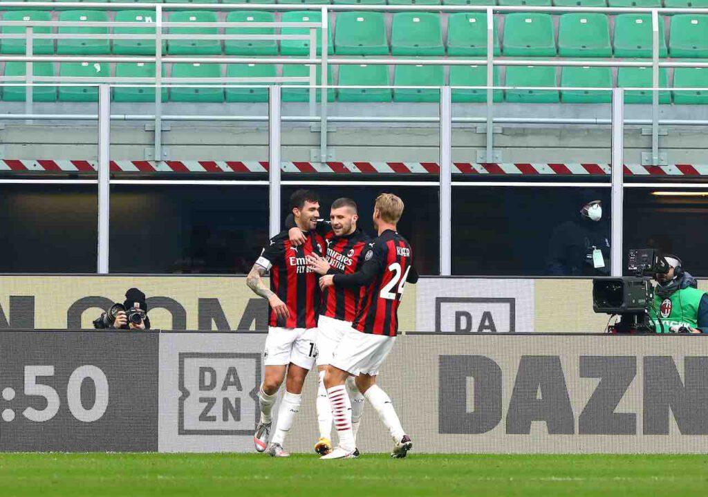 Milan, Kjaer infortunato: le condizioni del difensore (Getty Images)