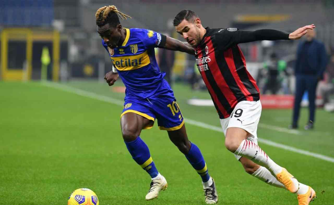 Parma-Milan precedenti
