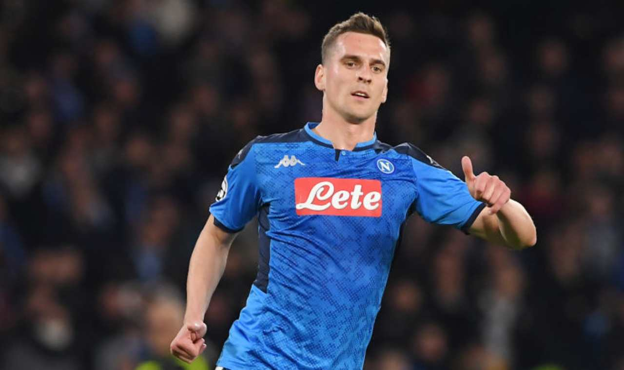 Milik, il Marsiglia in stand by (Getty Images)