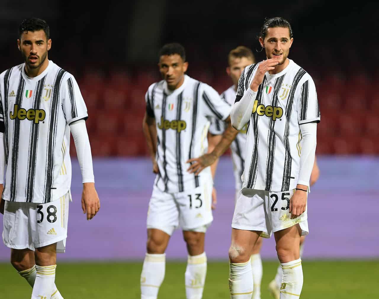 Rabiot salta Juventus-Fiorentina (Getty Images)-min