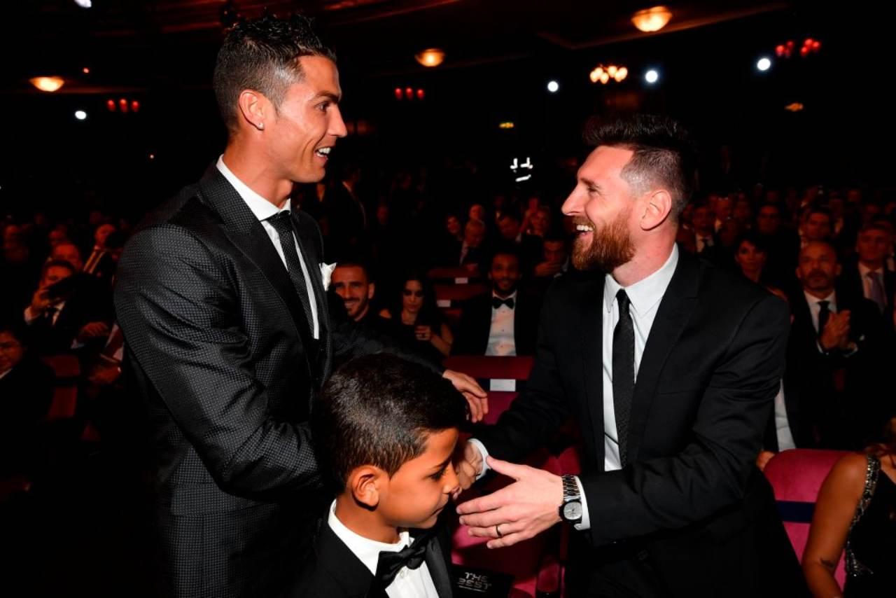Cristiano Ronaldo Messi Barcellona