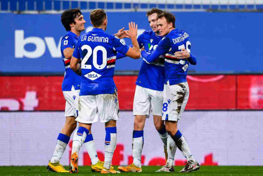 Nuovo positivo al Covid, la nota della Sampdoria (Getty Images)