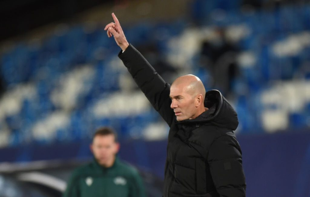 Zidane, chi lo sostituirà contro l'Osasuna (Getty Images)