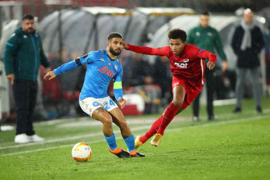 Europa League, Napoli pareggia in casa dell'AZ Alkmaar (Getty Images)