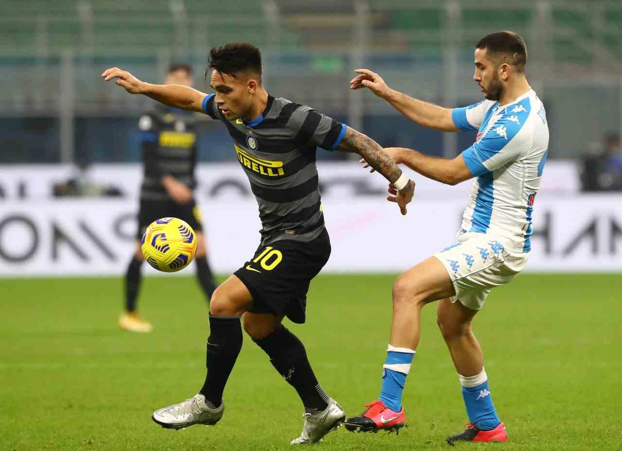 Serie A, la sintesi di Inter-Napoli