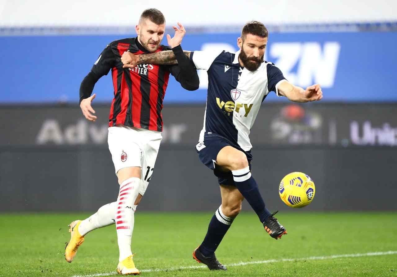 Milan-Sampdoria precedenti