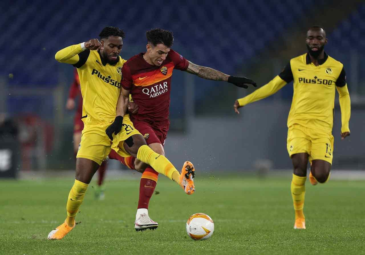 Europa League, gol e sintesi di Roma-Young Boys