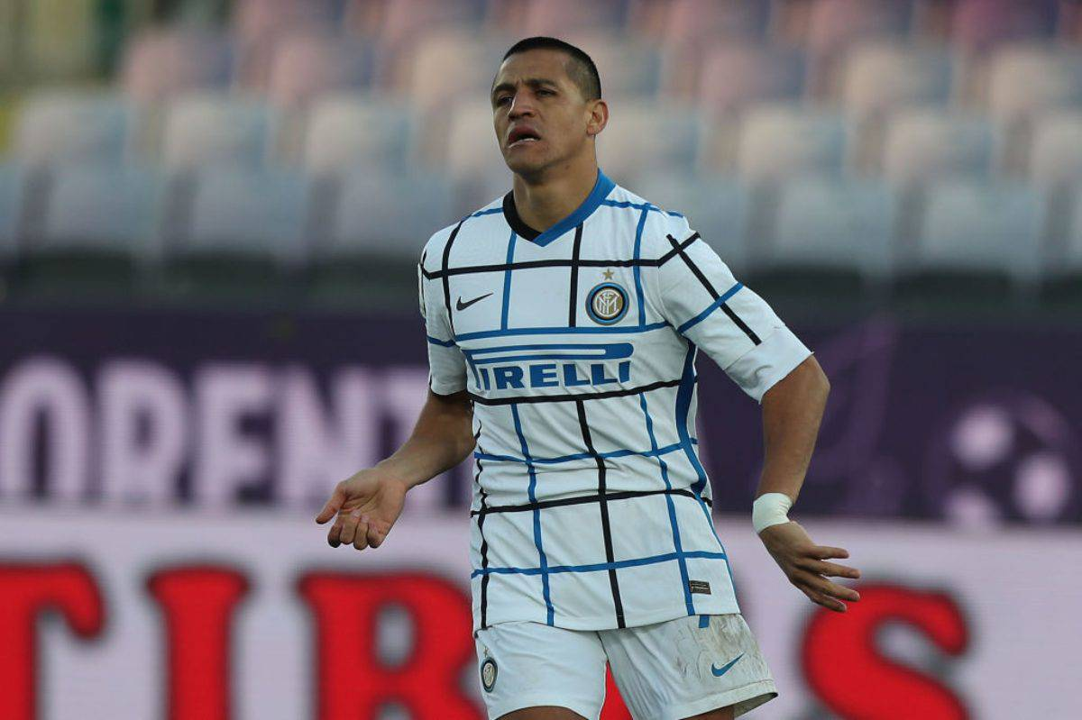 Dzeko Sanchez Inter Roma
