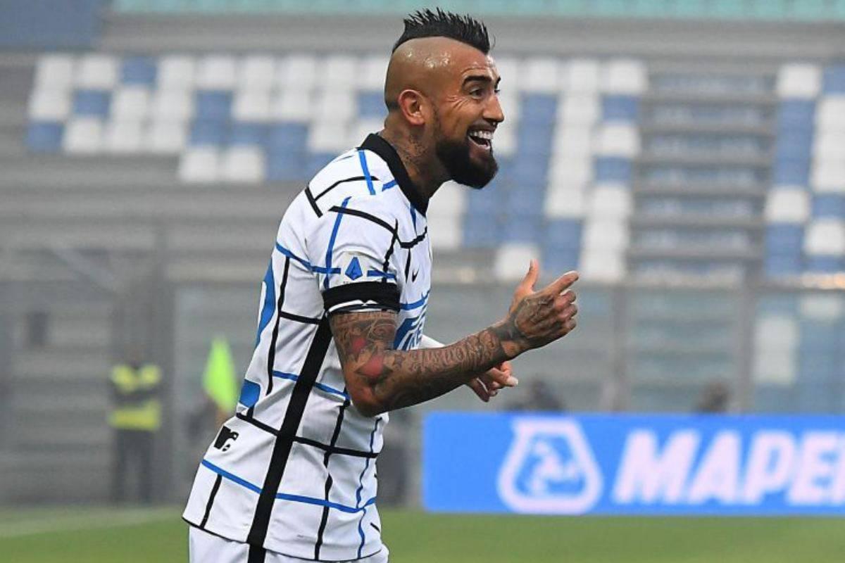 Vidal Inter Tifoso