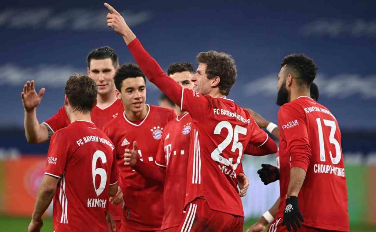 Bayern Monaco Juventus contatti