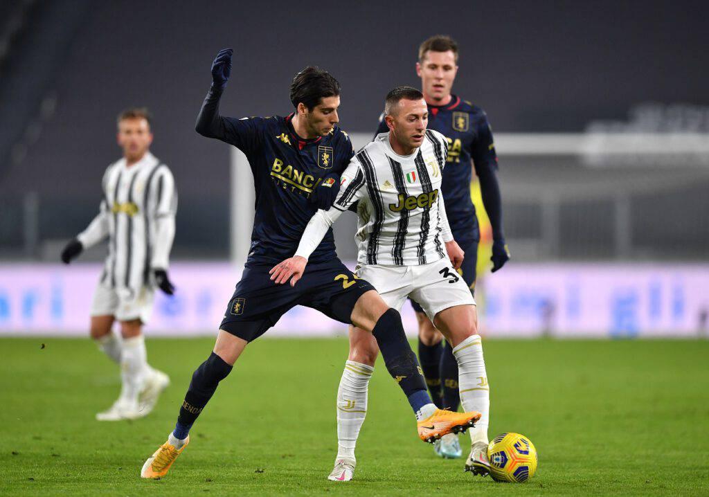 Juventus-Genoa Bernardeschi