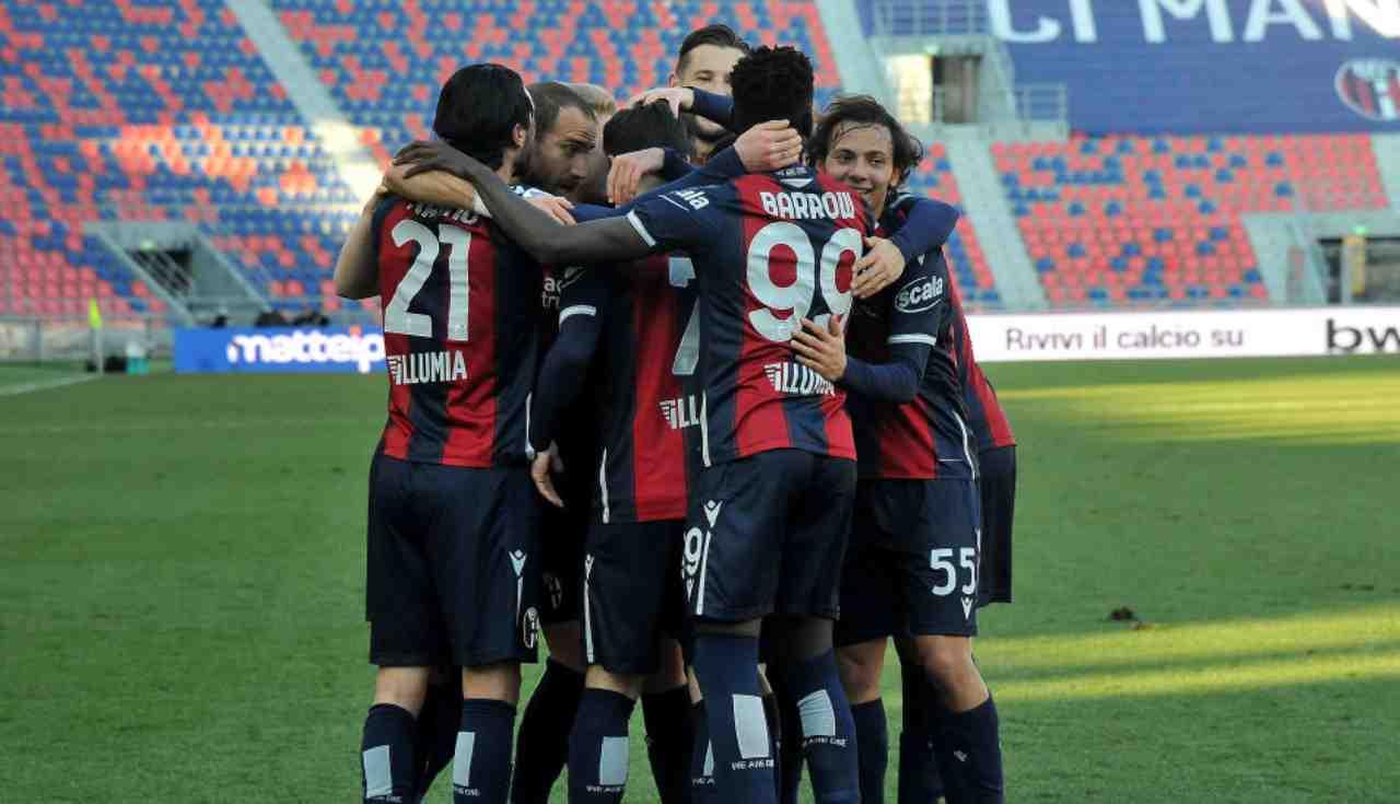 Bologna-Milan tv streaming