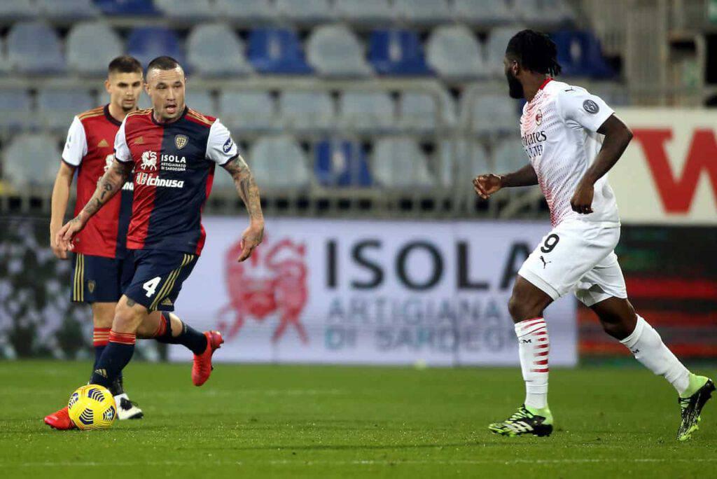 Cagliari-Milan sintesi (Getty Images)