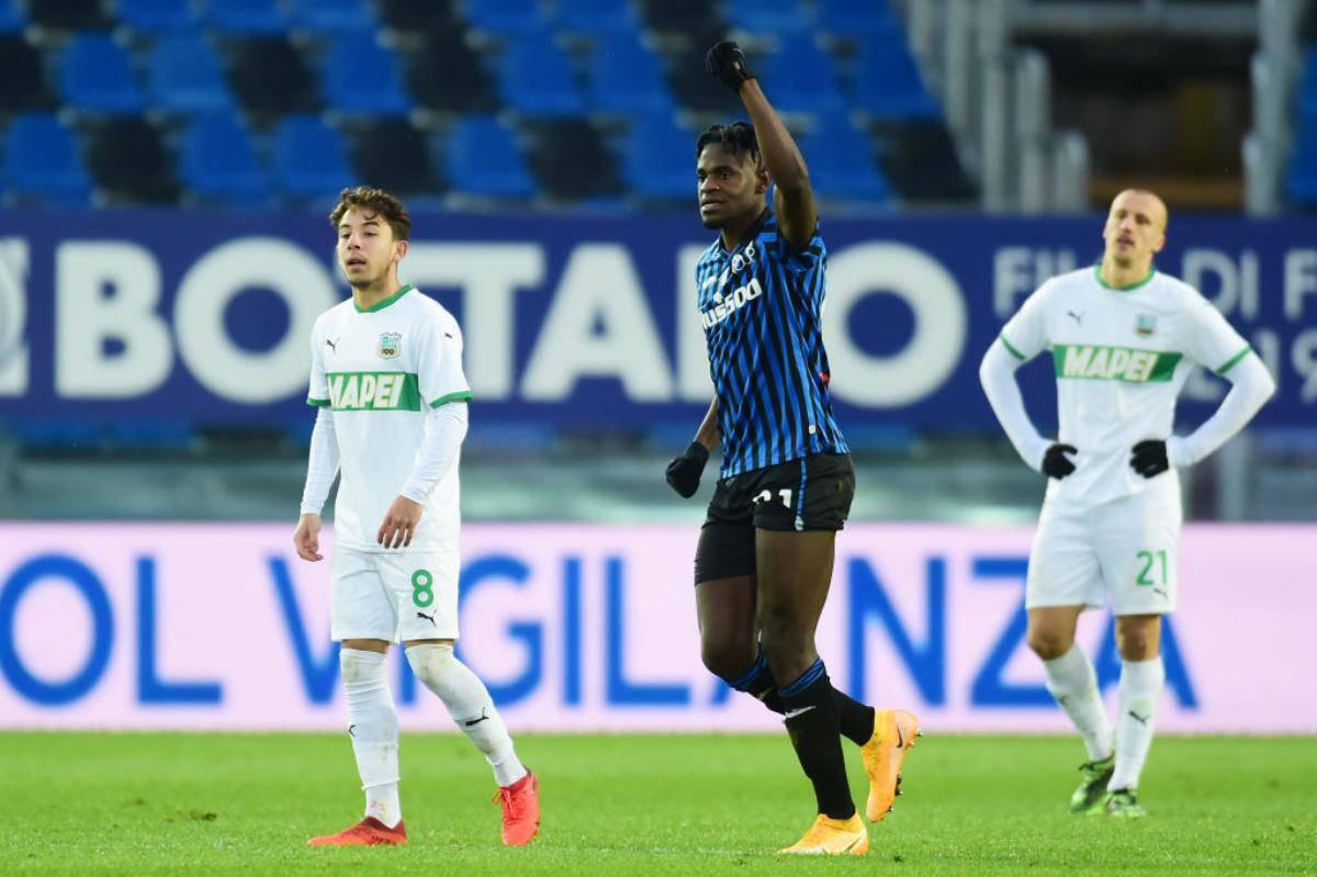 Atalanta-Sassuolo Highlights