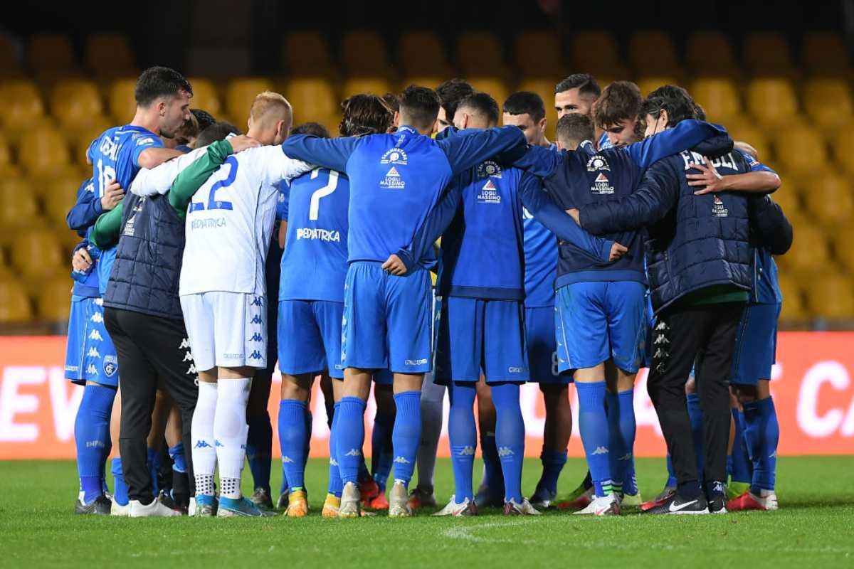 Empoli Covid Napoli Coppa Italia