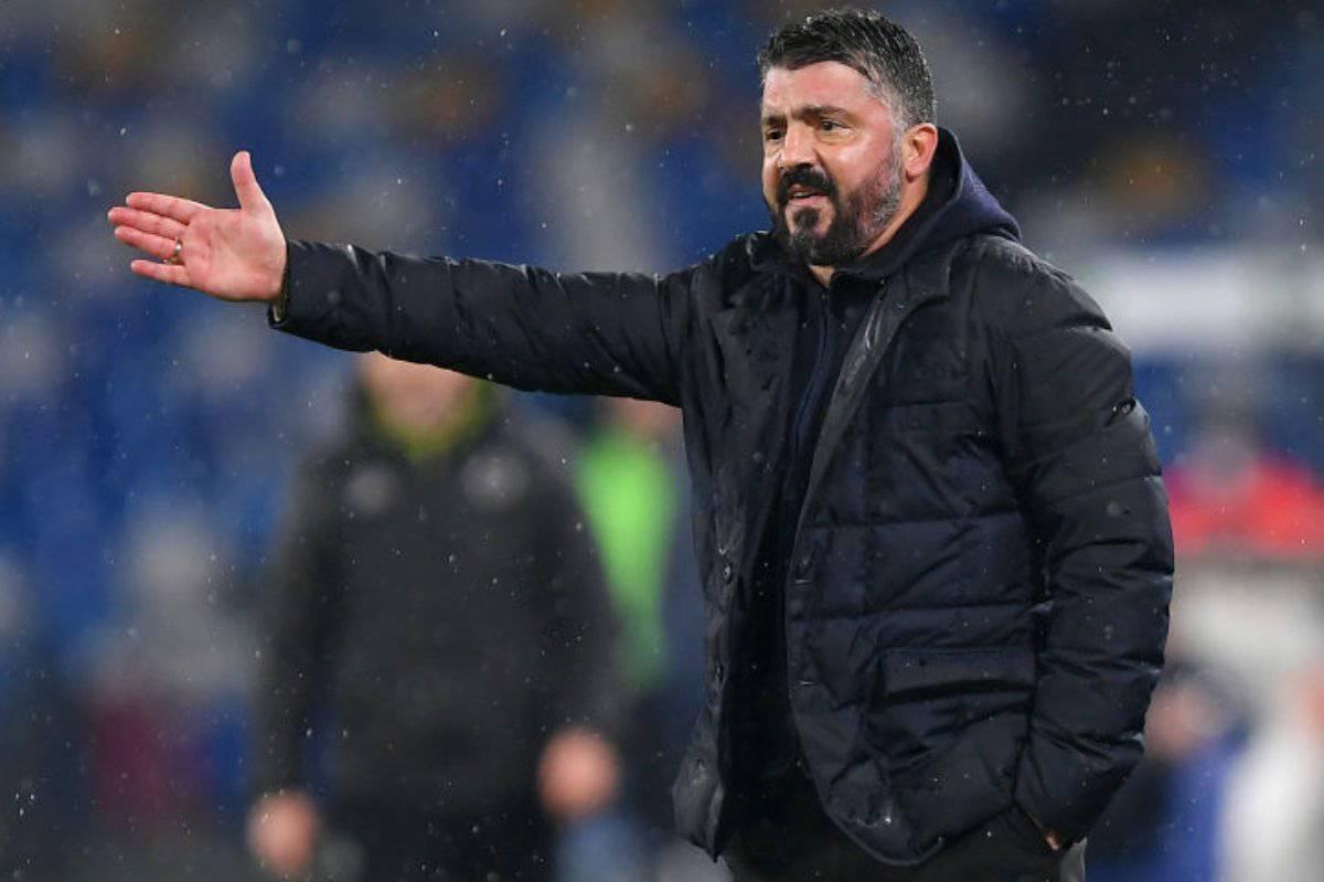 Gattuso critica i calciatori del Napoli (Getty Images)