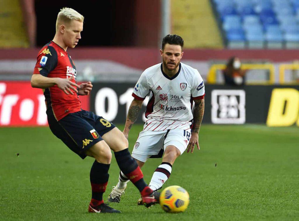 Genoa-Cagliari sintesi (Getty Images)