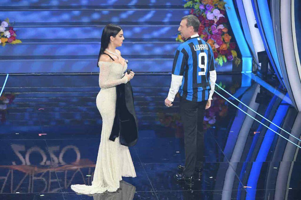 Ibrahimovic e Lukaku, Amadeus potrebbe fare da pacere a Sanremo (Getty Images)
