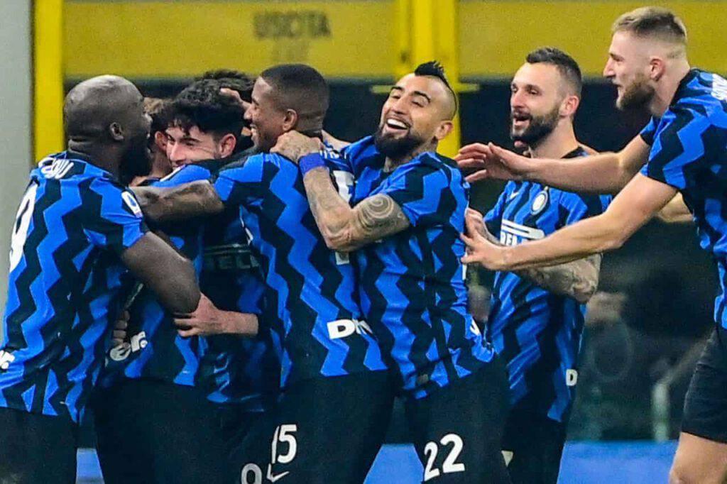 Inter, esultanza social da Vidal a Lukaku (Getty Images)