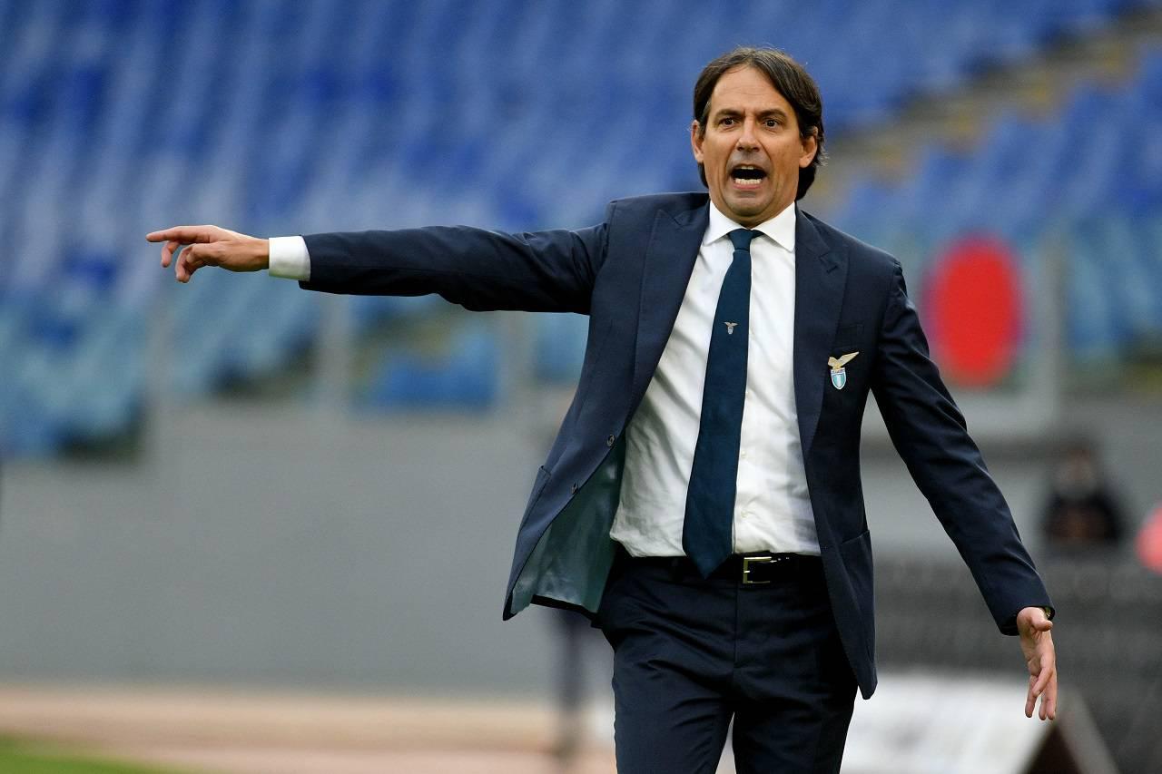 Inzaghi in conferenza per Lazio-Roma (Getty Images)