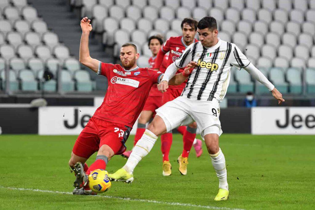 Juventus-Spal sintesi (Getty Images)