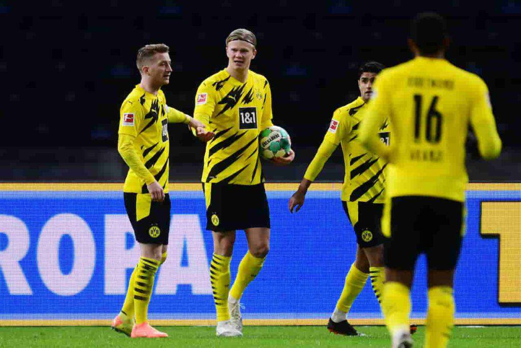 Manchester United, ipotesi Haaland per l'attacco (Getty Images)
