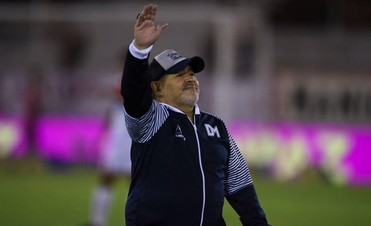 Maradona ultimo video Luque