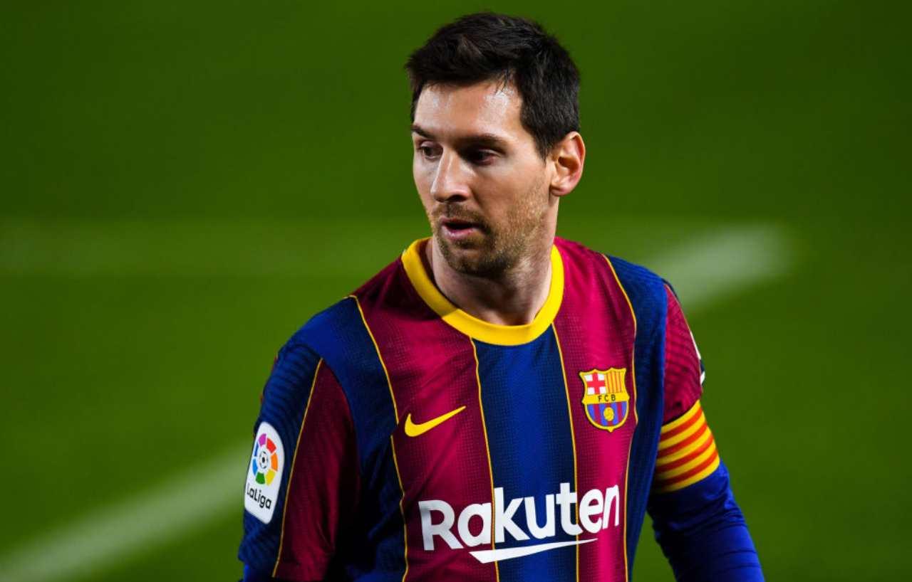 Messi contratto Barcellona