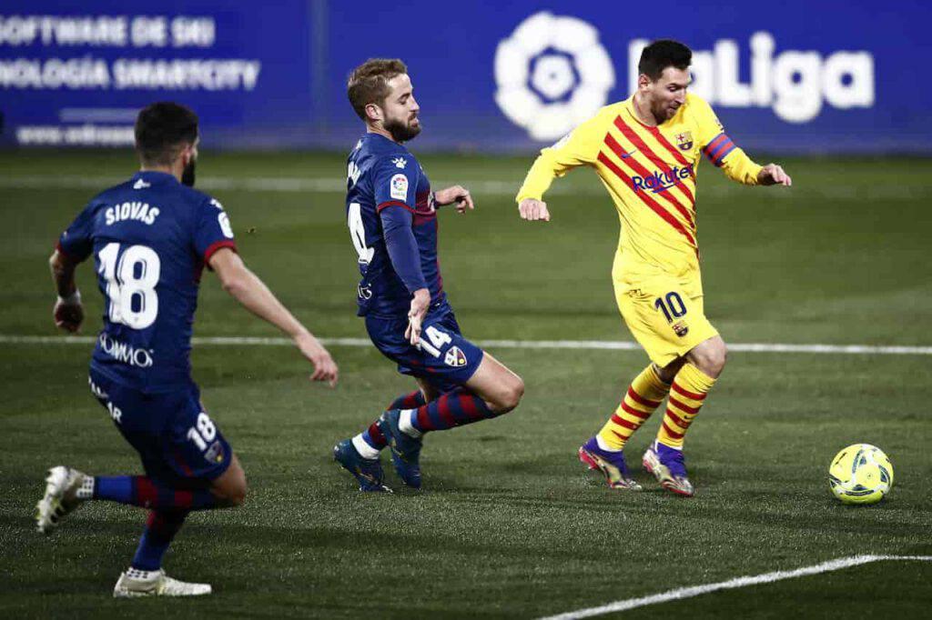 Messi, 500 presenze in Liga con il Barcellona (Getty Images)