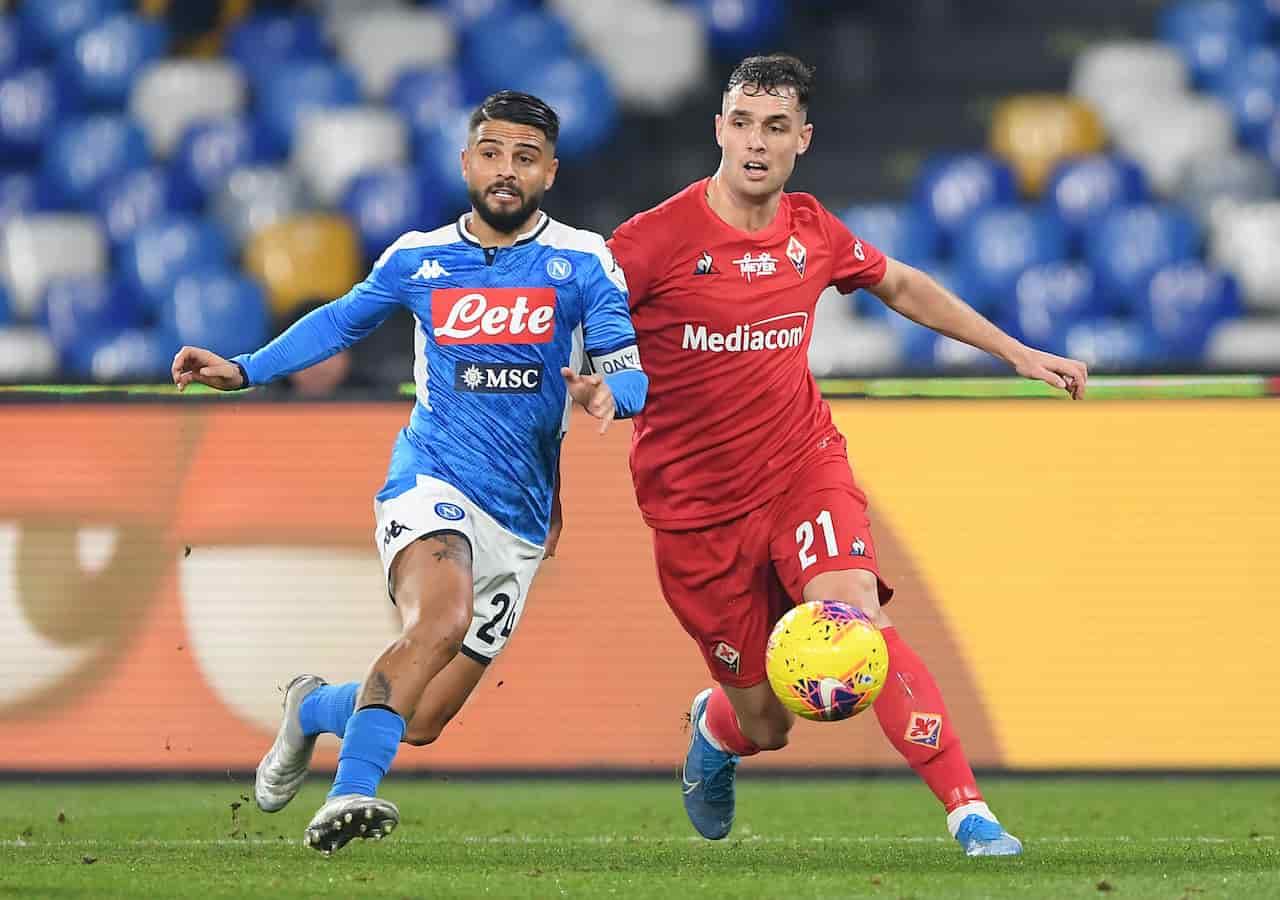 Napoli-Fiorentina, orario invariato per il match (Getty Images)