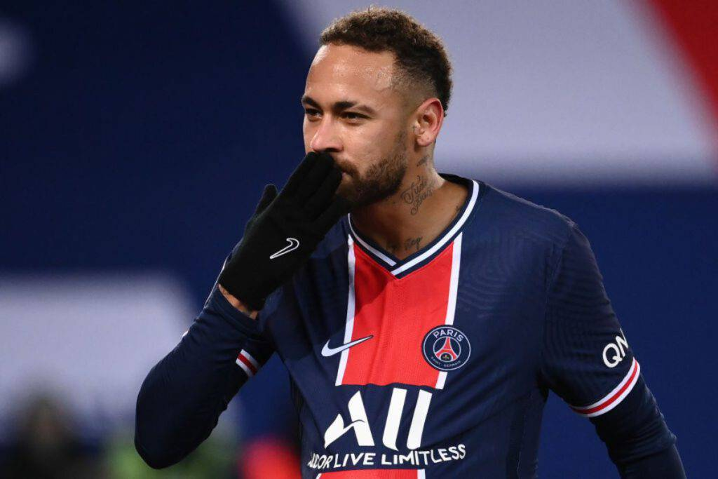 Barcellona-PSG, Neymar protagonista su Twitter (Getty Images)