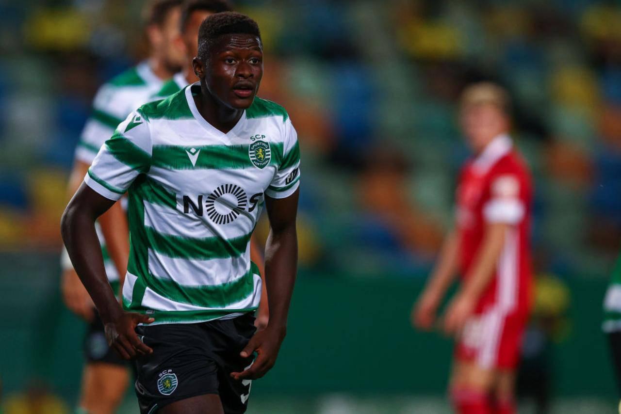 Nuno Mendes Milan Sporting