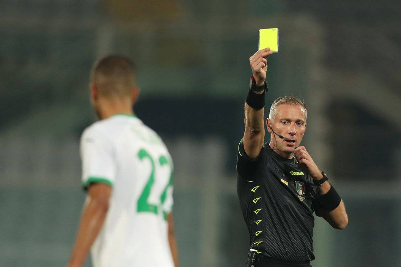 Paolo Valeri sarà il giudice di gara nella finale di Supercoppa Italiana tra Juventus e Napoli (Getty Images)