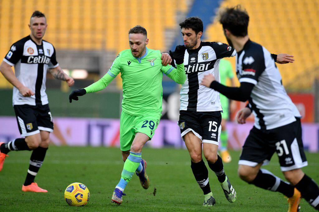 Parma-Lazio, D'Aversa nel post gara