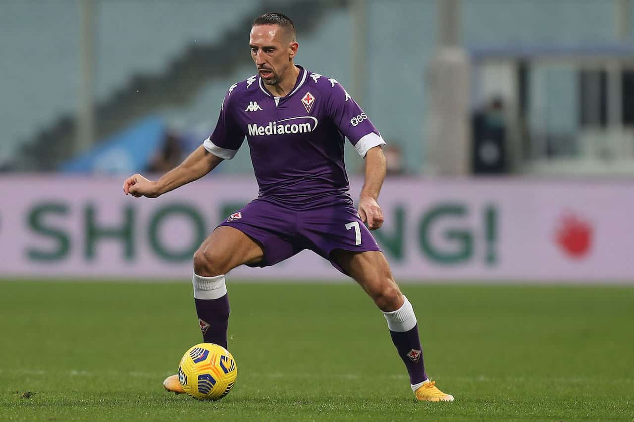 Ribery potrebbe lasciare la Fiorentina (Getty Images)