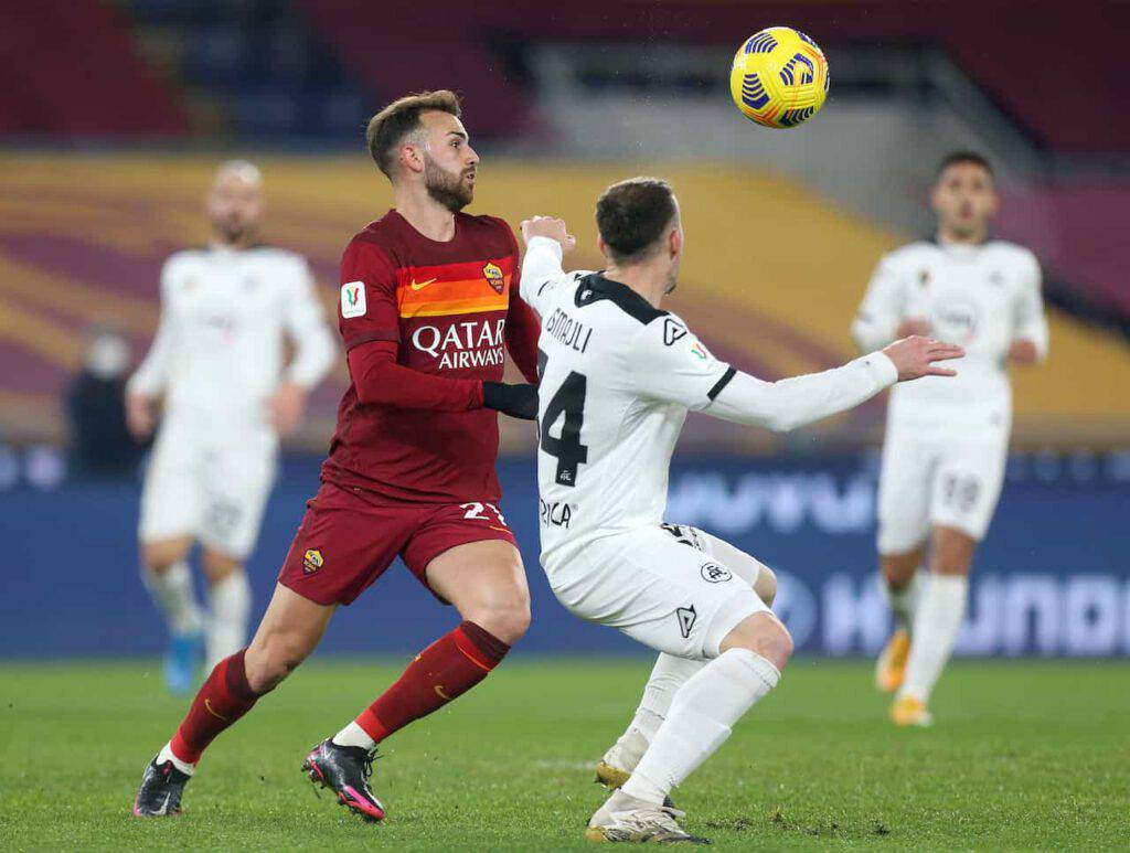 Roma-Spezia sintesi (Getty Images)