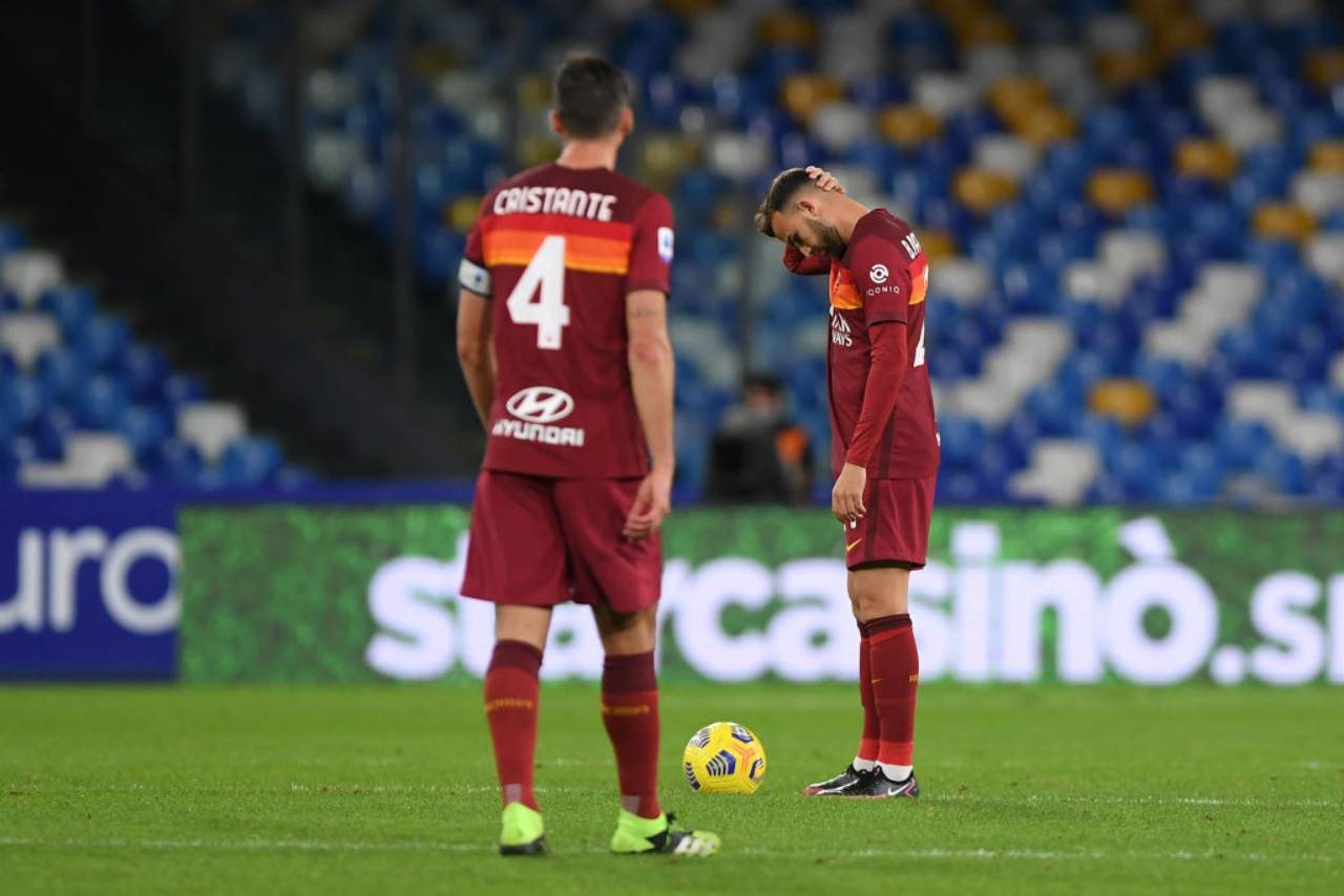 Roma, sconfitta in Coppa Italia (Getty Images)