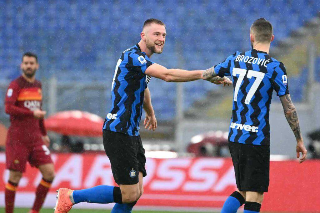 Roma-Inter, solo un pari per Conte (Getty Images)