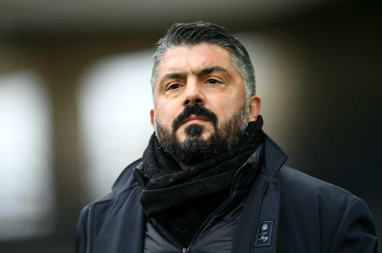 Udinese-Napoli, Gattuso criticato dai tifosi (Getty Images)
