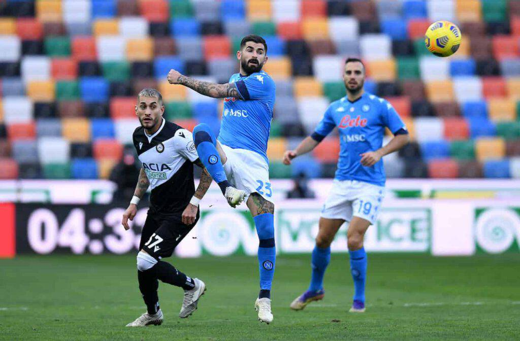 Udinese-Napoli sintesi (Getty Images)