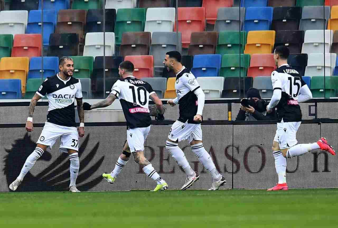 Udinese Inter diretta