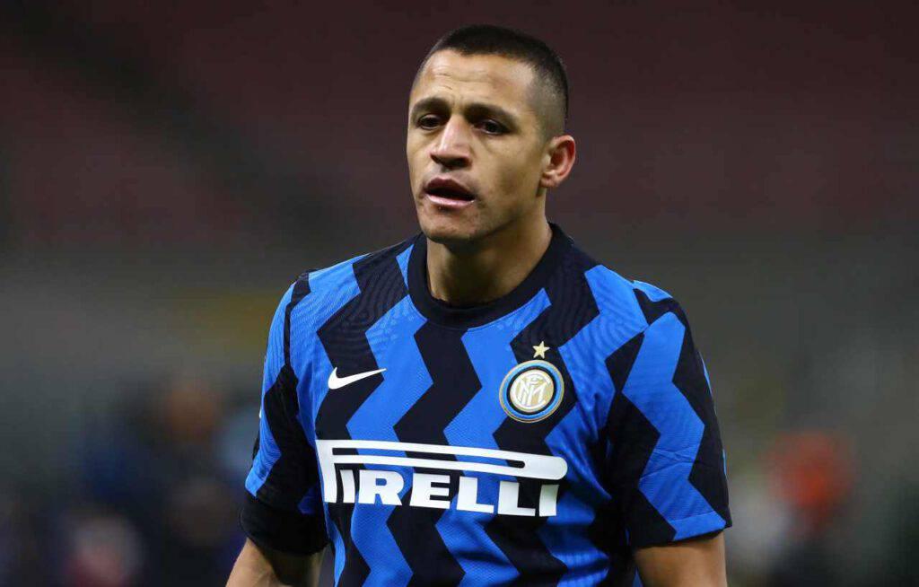 Inter Roma infortunio Sanchez le condizioni