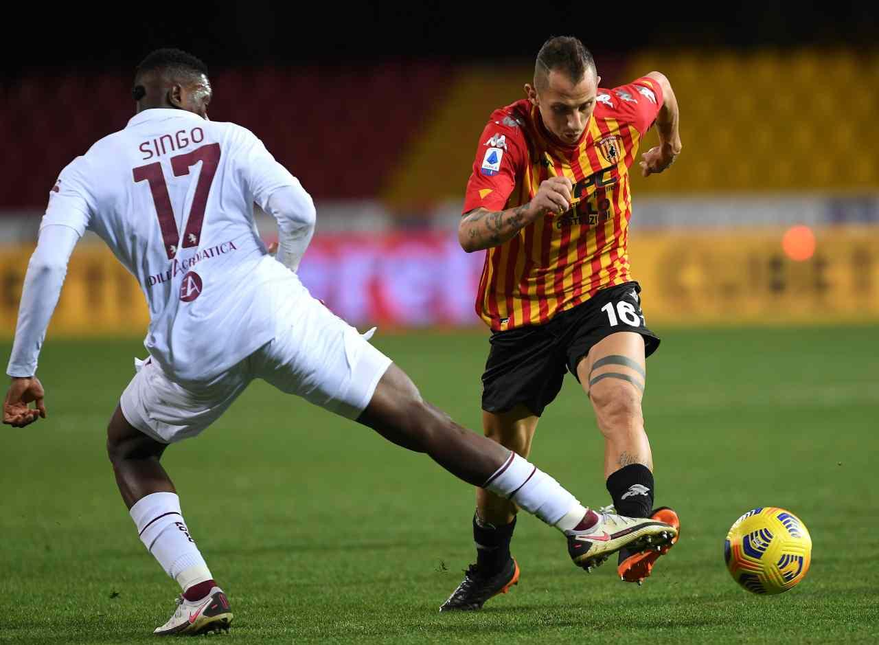 Serie A, la sintesi di Benevento-Torino