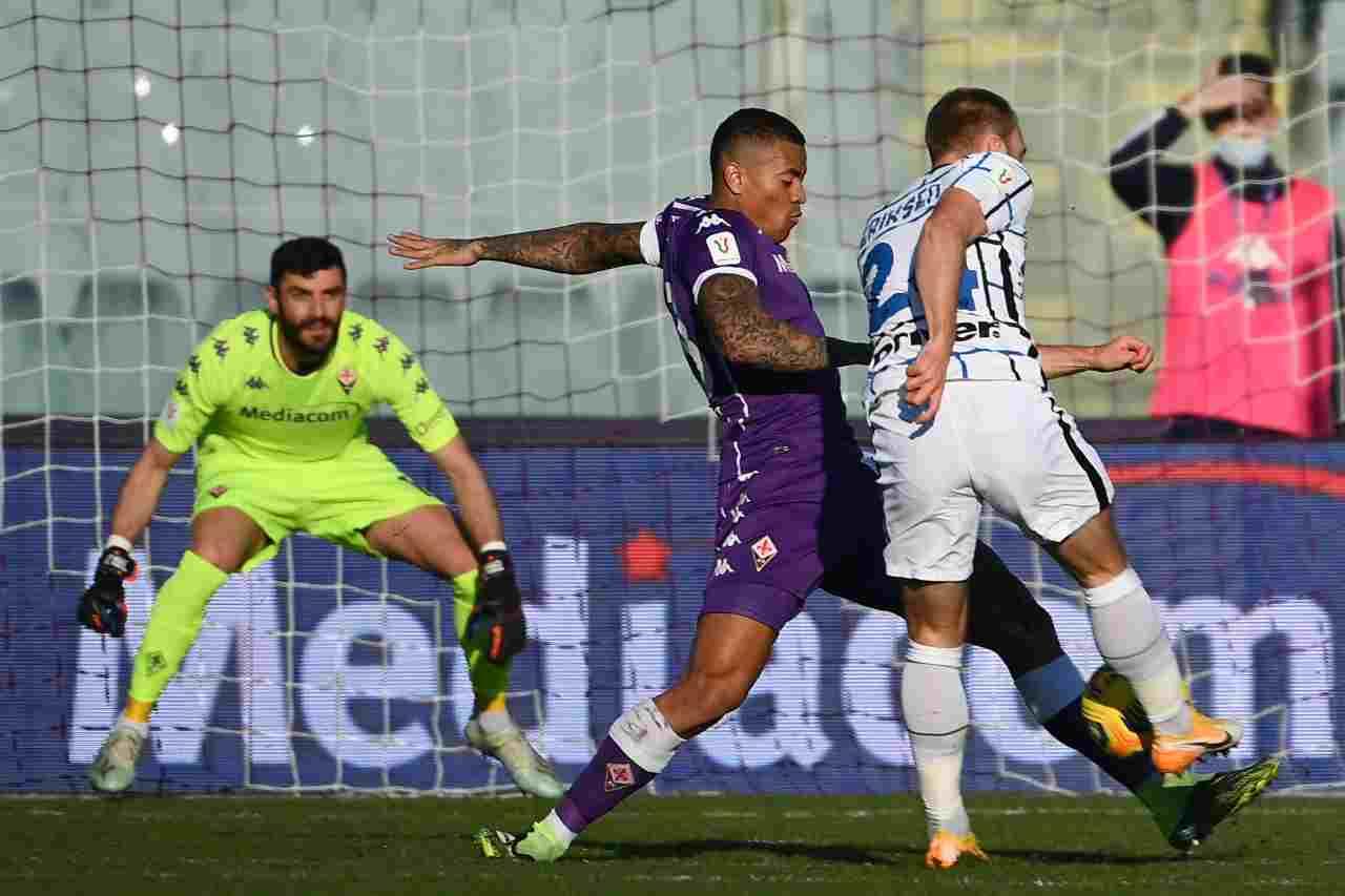 Coppa Italia, la sintesi di Fiorentina-Inter