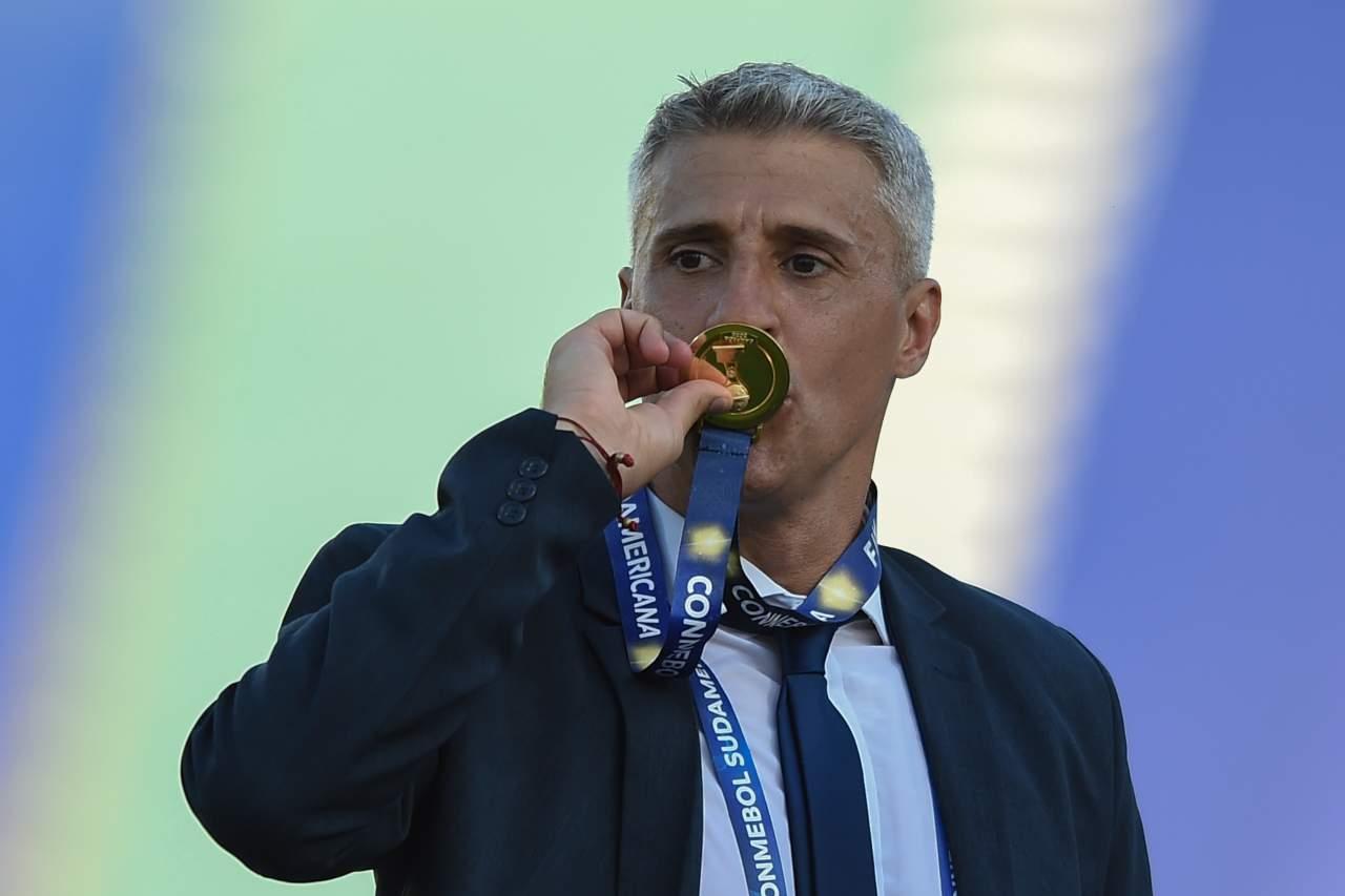Argentina, impresa di Crespo: come è nato il primo trofeo da allenatore