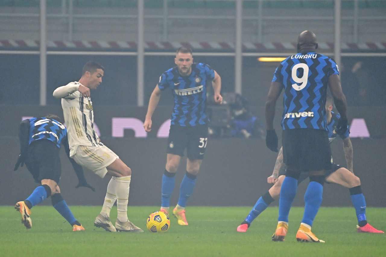 Juve sconfitta dall'Inter, centrocampo sotto accusa: critiche social