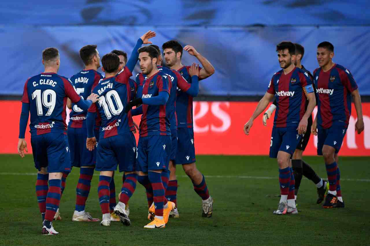 Liga, crisi Real Madrid: perde in casa con il Levante