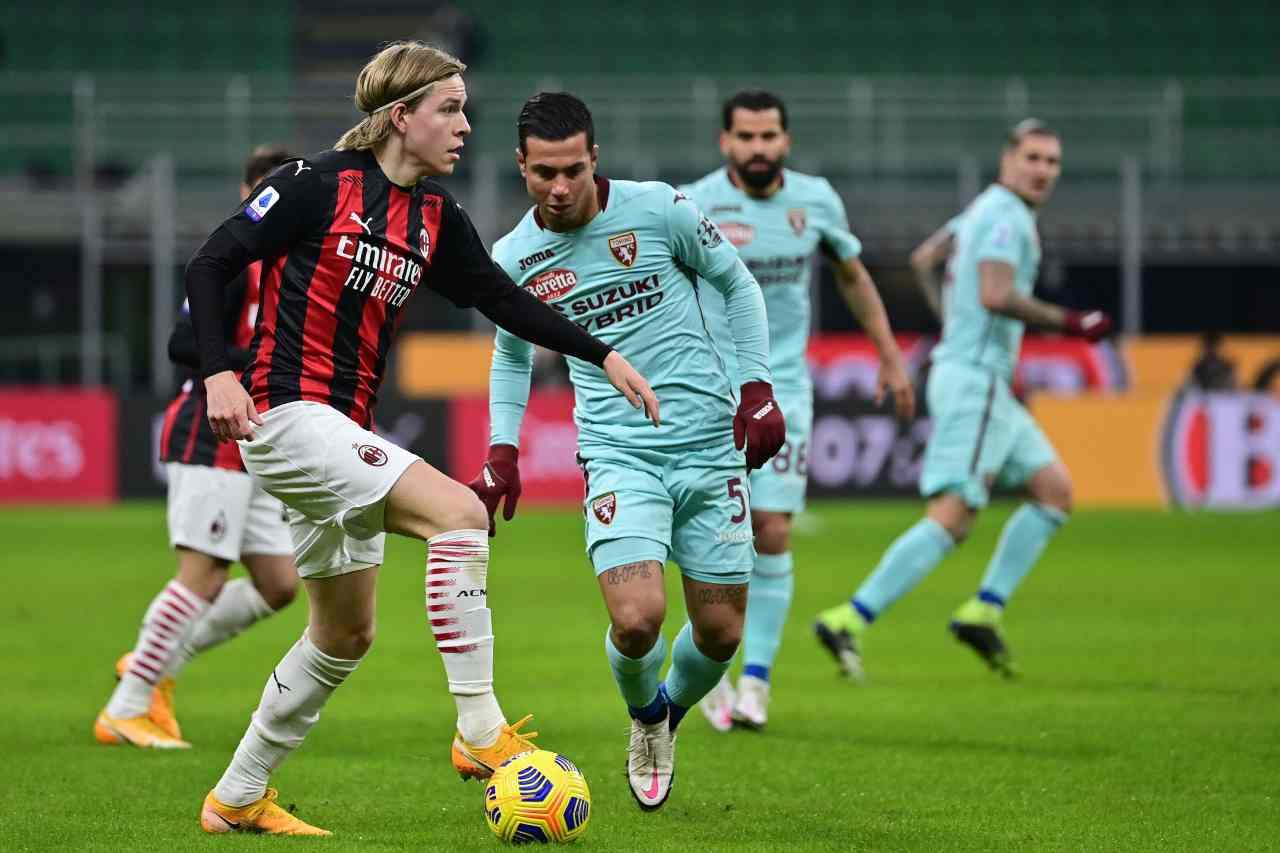 Milan-Torino, i precedenti dell'incontro (Getty Images)