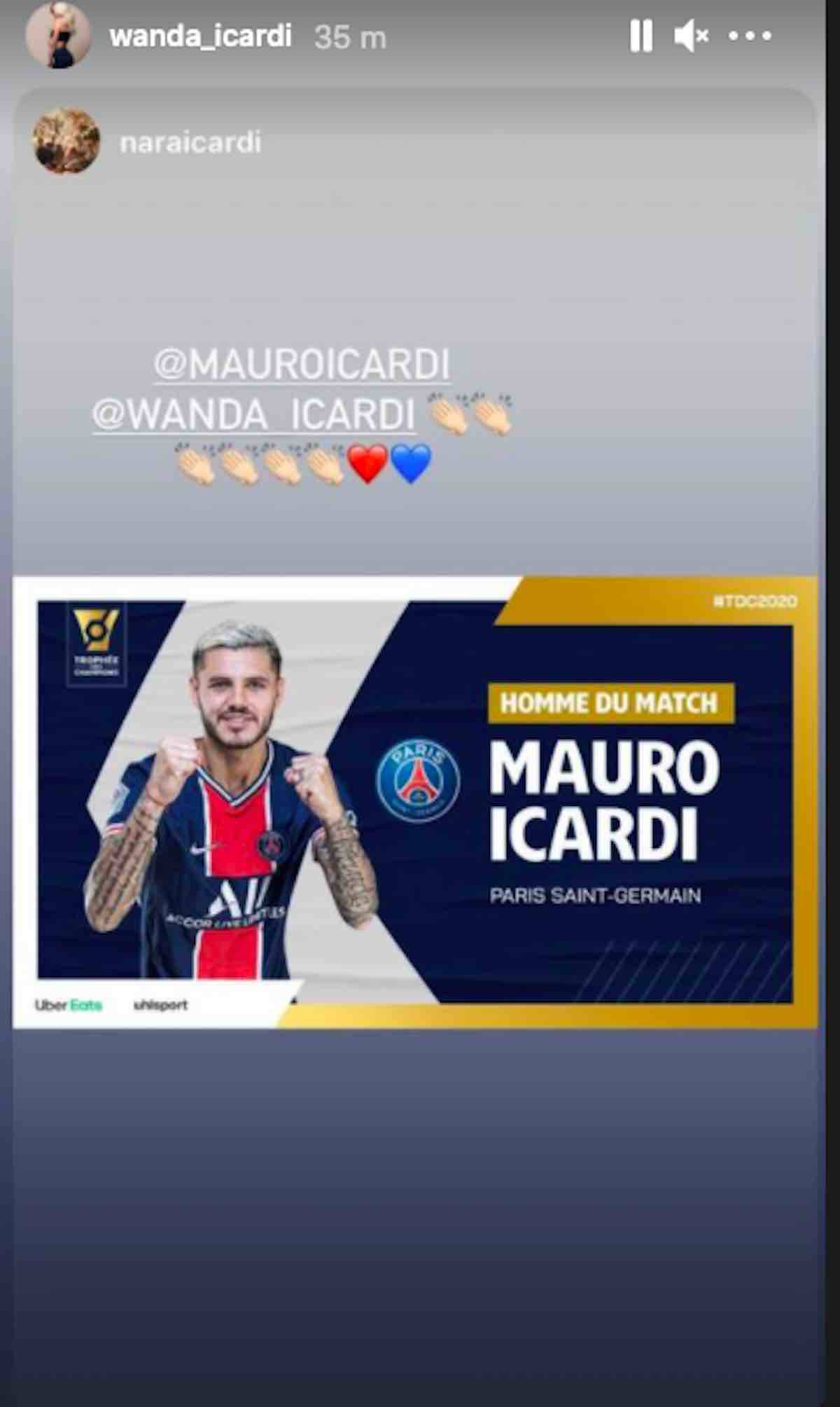 post wanda icardi man of the match
