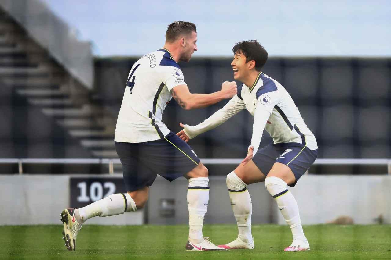 Premier League: tris Tottenham, Leeds ko. Son e Kane da record